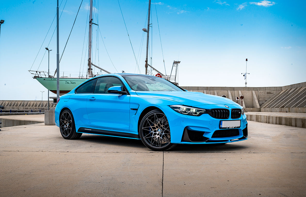BMW M4 Competition Riviera Blue